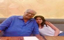 Janhvi, Boney Kapoor to work together for 'Bombay Girl'