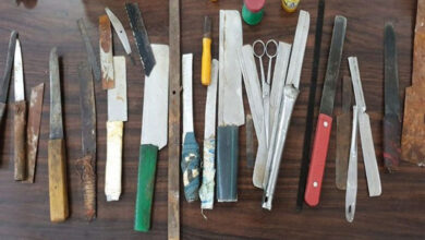 Photo of Karnataka: 37 knives, contraband seized from Bengaluru prison