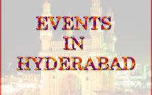 Events In Hyderabad (24-Oct-2019)