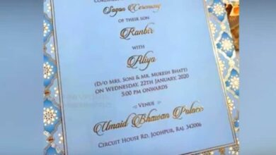 Photo of Ranbir-Alia's fake wedding card goes viral on social media