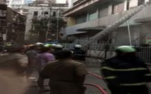 Mumbai: Fire breaks out at residential building, 8 rescued