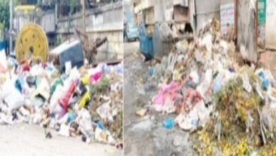 Photo of Hyderabad: Major roads turned into dustbins