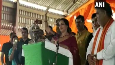 Photo of Haryana: Hema Malini campaigns in Panipat for BJP candidate