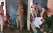 Hyderabad Police held Homeless people at Nampally