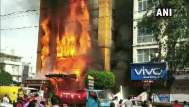 Photo of Fire breaks out at Indore-based hotel, guests rescued safely
