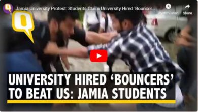 Photo of Jamia students attacked by 'hired goons'; one critical