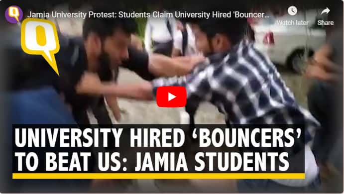 Jamia students attacked by 'hired goons'; one critical