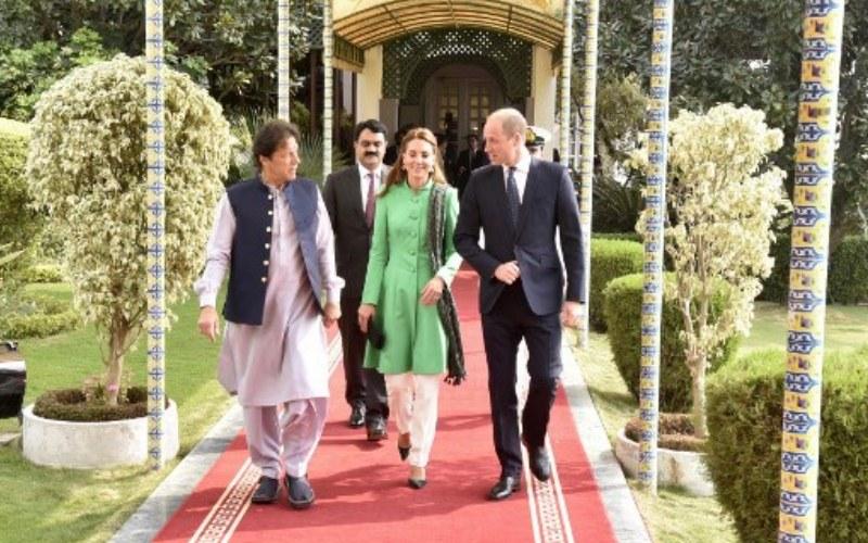 Photos: Prince William and Kate visit Pakistan, meet Imran Khan
