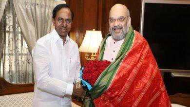 Photo of KCR meets Shah in New Delhi