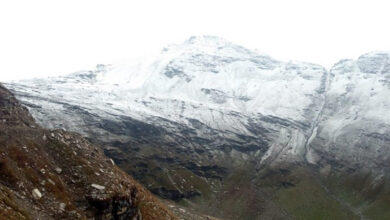 Photo of Kullu: Rohtang pass receives fresh snowfall