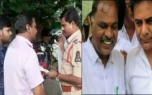 TRS corporator harassing a family in Land dispute
