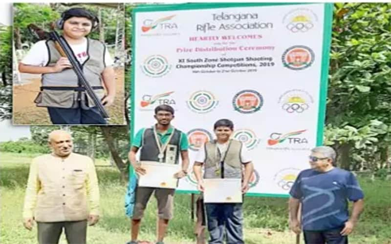 Master Ahmed Ali Khan wins gold medal