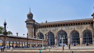 Photo of Hyderabad: Restoration of Mecca Masjid main gate