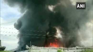Photo of Maharashtra:Fire breaks out in godown