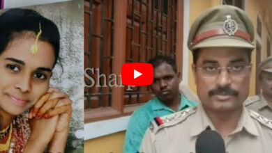 Photo of Constable Abdul hacks wife Naushad Begum at Amberpet