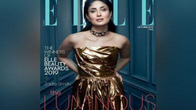 Photo of Kareena Kapoor shimmers in strapless golden ensemble