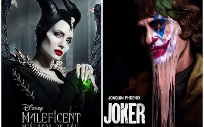 Maleficent Mistress Of Evil Joker Battling For No 1