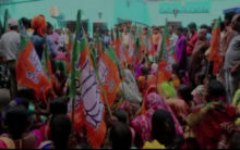 West Bengal: BJP stages protest against illegal mining in Asanol