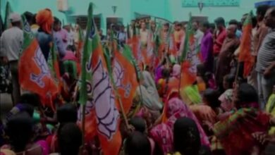 Photo of West Bengal: BJP stages protest against illegal mining in Asanol