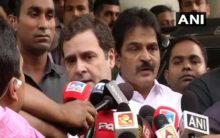 Rahul Gandhi meets Kerala CM in Delhi
