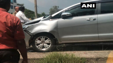 Photo of Vehicle in Raj Thackeray's convoy meets with accident in Mumbai