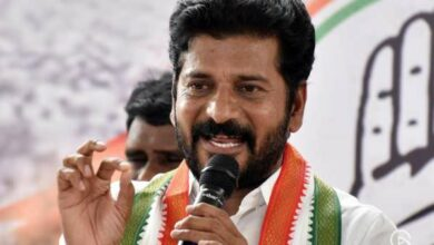CM trying to loot RTC lands worth Rs 50,000 crore, says Revanth