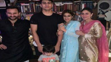 Photo of Sara Ali Khan kickstarts Diwali celebrations with family