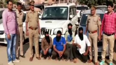 Photo of Police busts gang involved in four-wheeler theft, 4 held