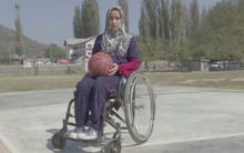 First female Kashmiri specially-abled Int. basketball player