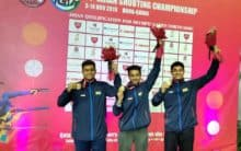 Shooter Abid Ali Khan wins bronze