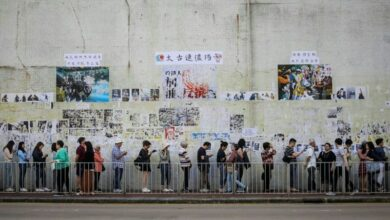 Photo of Protests drive record 70 percent poll turnout in Hong Kong