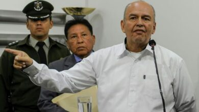 Photo of Bolivia's interior minister accuses Morales of 'terrorism'