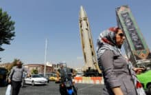 Pentagon says Iran's missiles unrivaled in Middle East