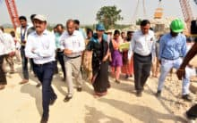 Tour of Warangal for development works