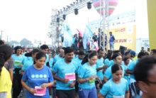Hyderabad 10K Run at Necklace Road