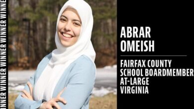 Photo of Democrat Abrar Omeish made history in Virginia's elections