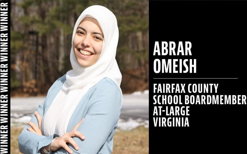 Democrat Abrar Omeish made history in Virginia's elections