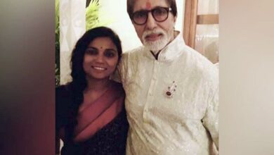 Photo of Amitabh congratulates 'Bhoothnath Returns' co-star Usha Jadhav