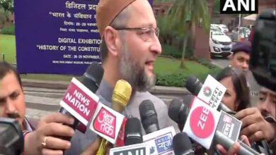 Photo of Owaisi slams Pragya for Godse remark, gives notice to LS speaker