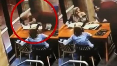 Photo of Pregnant woman in hijab thrashed in Sydney cafe bless with baby