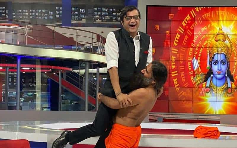 Baba ji took the term #GodiMedia literally, says Twitterati