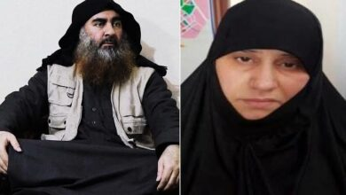 Photo of Baghdadi's wife revealed IS group secrets after capture