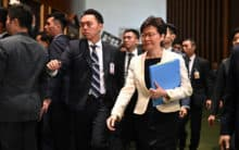 Xi voices 'trust' in Hong Kong leader, but concern over unrest