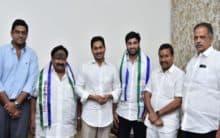 TDP youth wing president Devineni Avinash joins YSRCP