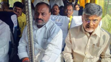 Photo of Chandrababu Naidu to visit Amaravati capital region today