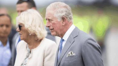 Prince Charles and Camilla, Duchess of Cornwall arrive in NZ