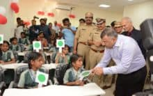 Hyderabad: Children Traffic Park inaugurated in Nagole