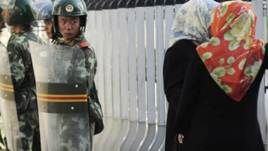 Photo of Uighur Muslims tracked systematically, leaked data shows