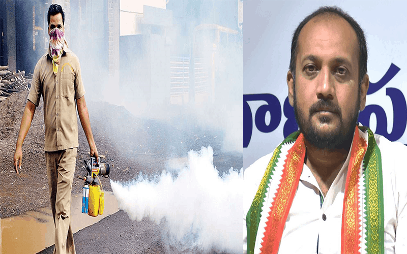 Mosquito menace: Congress leader offers free fogging services