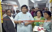 Golden Threshold dedicates hall in Indira Devi's name